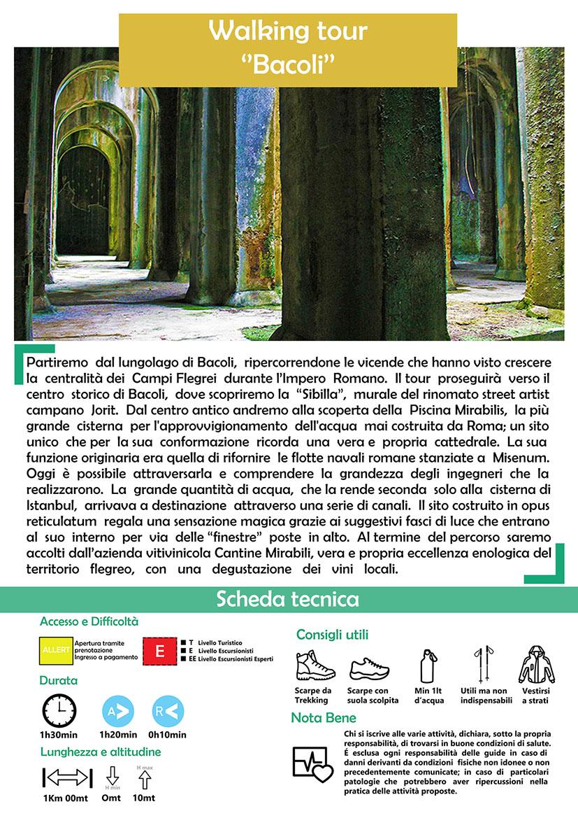 Walking tour Bacoli/Piscina Mirabilis