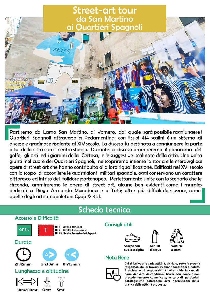 Street-art tour Quartieri Spagnoli