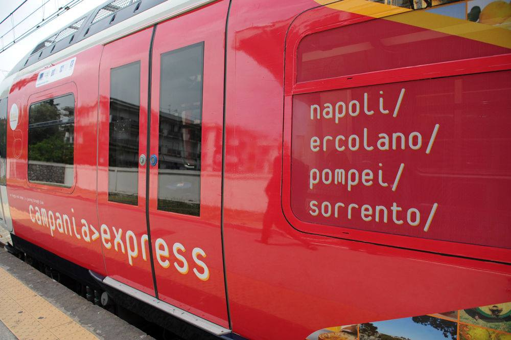 Parte il Campania Express.