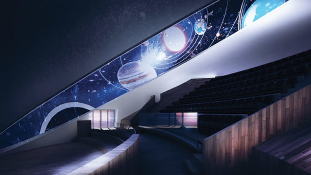 Città della Scienza – Inaugurazione planetario 3D