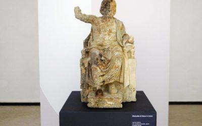 """""""Ritorna"""" a casa la Statua di Zeus, ospite del Museo Archeologico dei Campi Flegrei"""