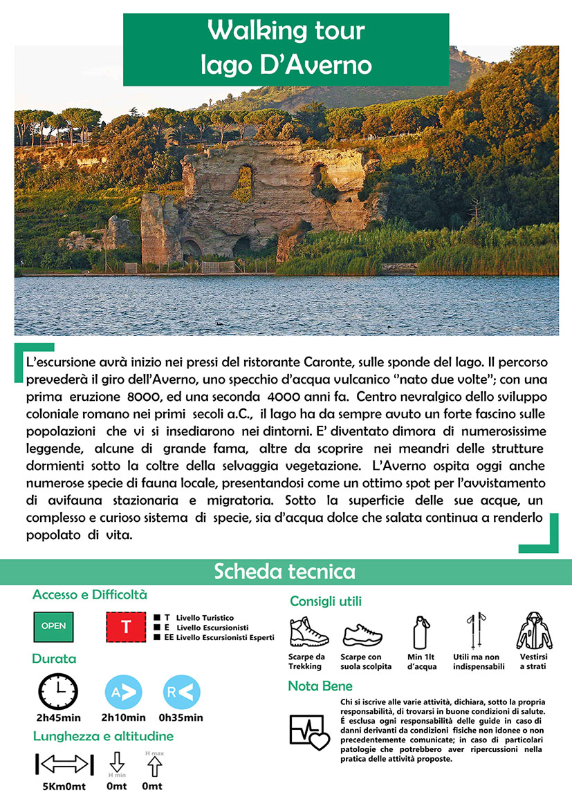 Walking Tour Lago D'averno
