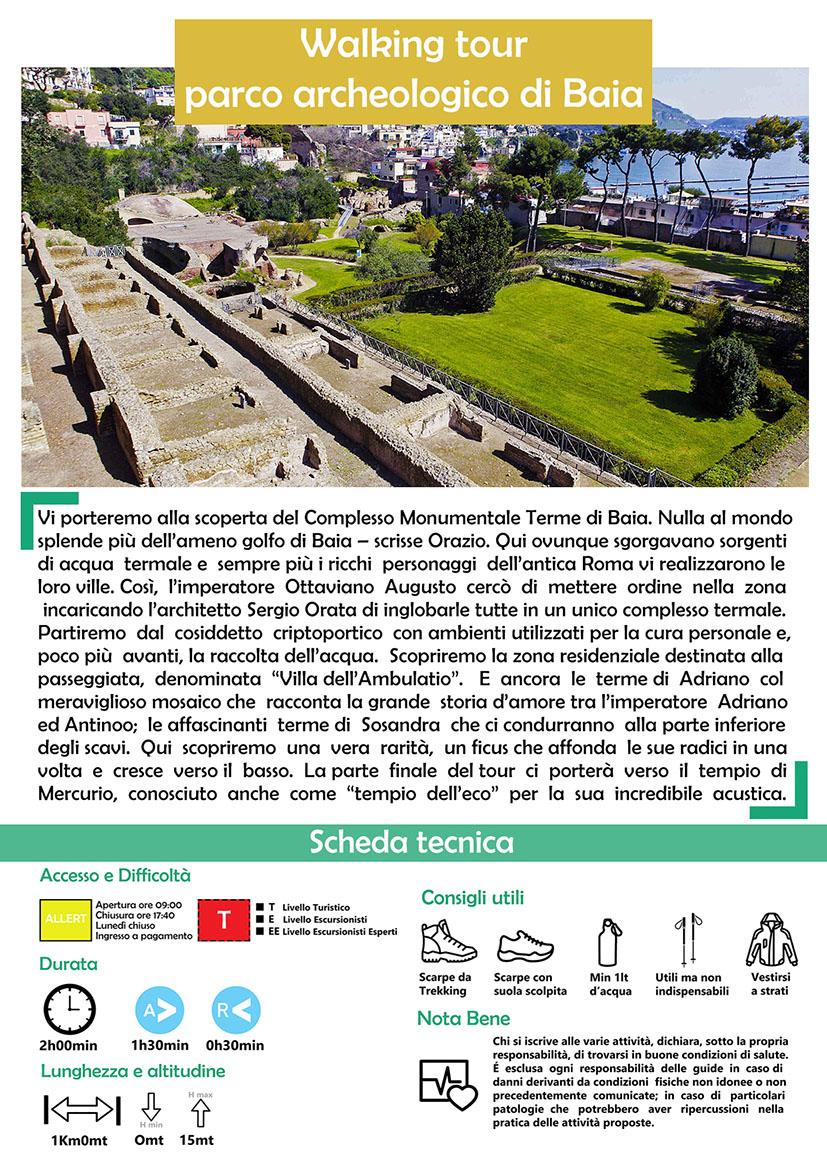 Tour Parco archeologico di Baia