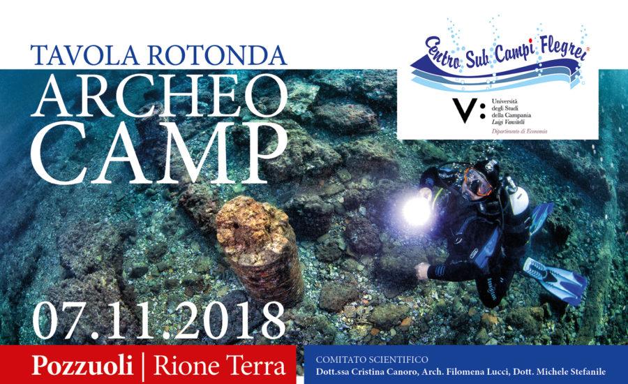 Archeo Camp 2018 promosso dal Centro Sub Campi Flegrei