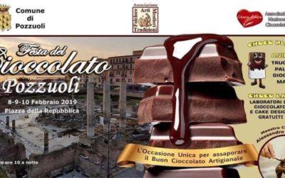 Festa del Cioccolato a Pozzuoli. Dal 8 al 10 febbraio in Piazza della Repubblica.