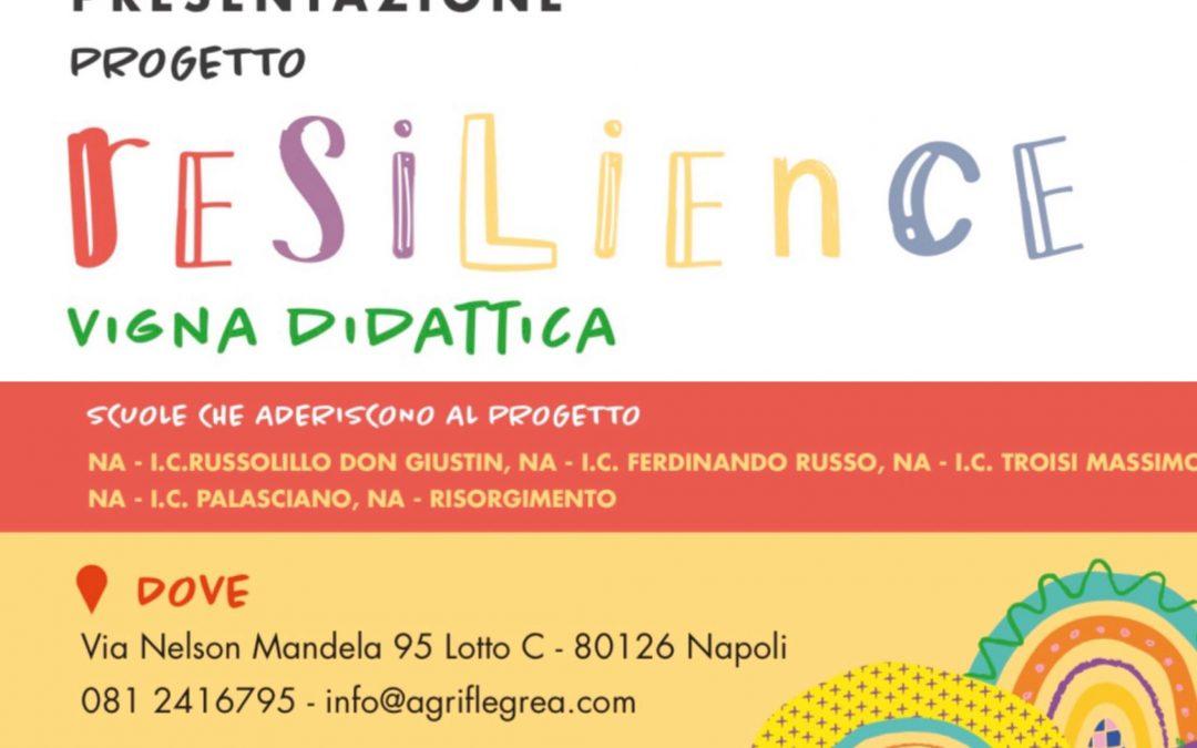 Resilience: la vigna didattica apre ai bambini il 23 settembre.
