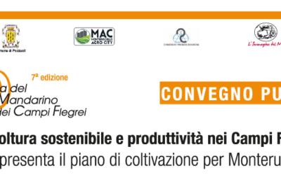 """Convegno pubblico a Pozzuoli:""""Agricoltura sostenibile e produttiva nei Campi Flegrei""""."""