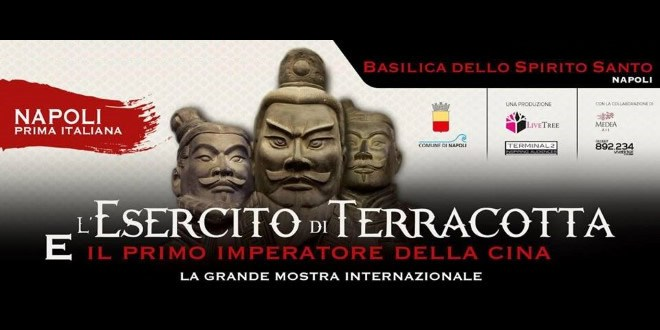 """""""L'esercito di Terracotta"""" arriva a Napoli"""