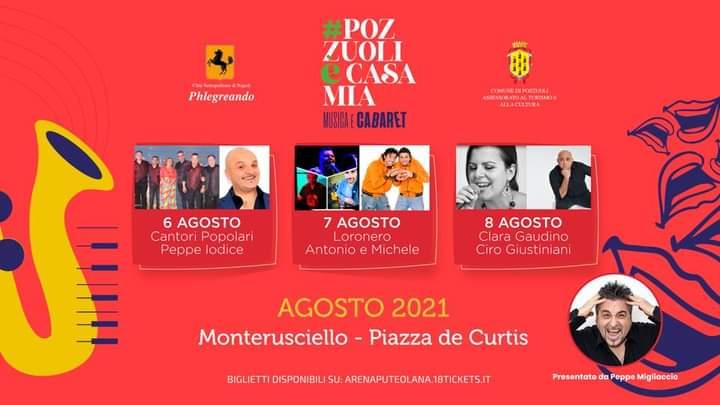 Weekend di eventi e spettacoli promossa dal Comune di Pozzuoli.