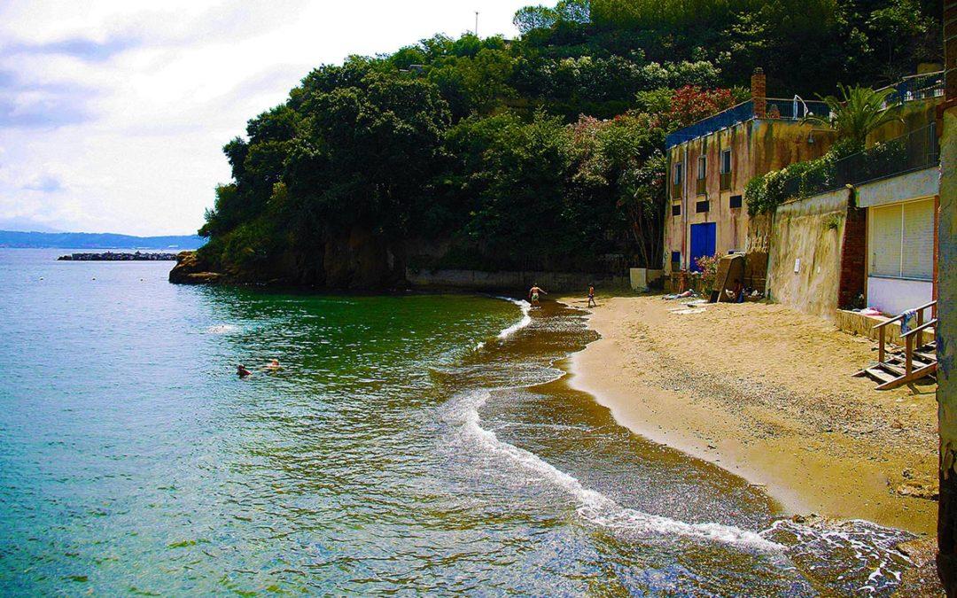 Spiaggia di Villa Ferretti