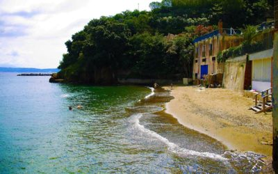 Beach of Villa Ferretti