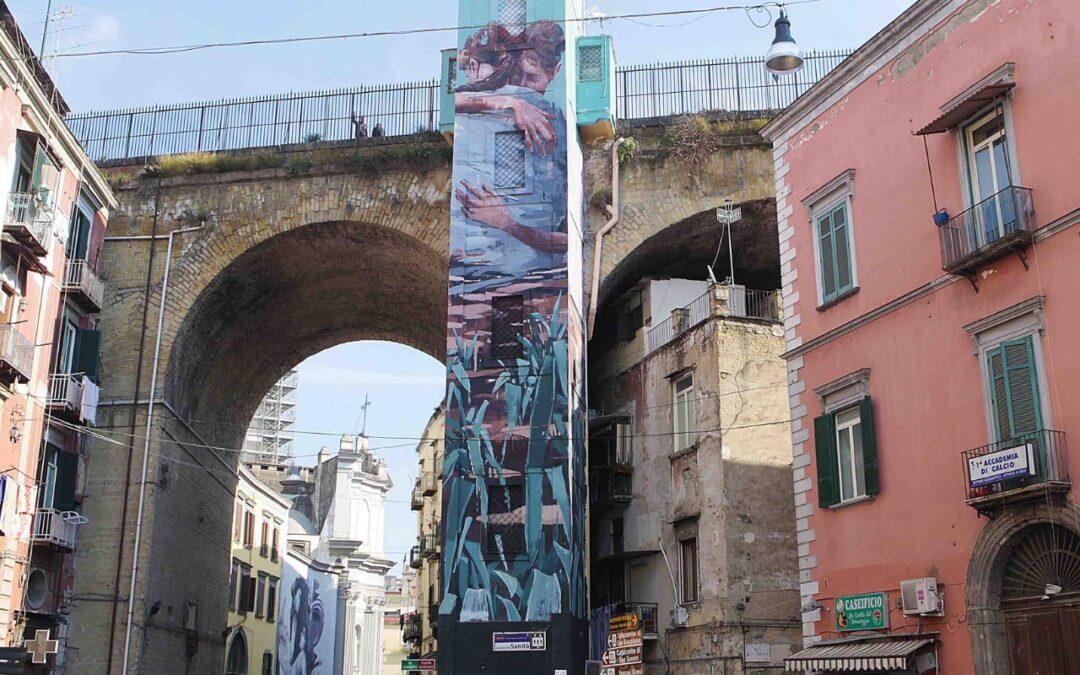 Napoli a colori. Le cinque opere di street-art da non perdere.