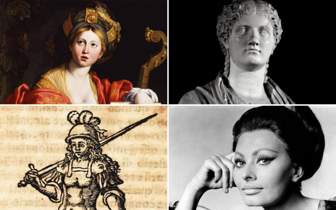 Le donne dei Campi Flegrei tra storia e mito.