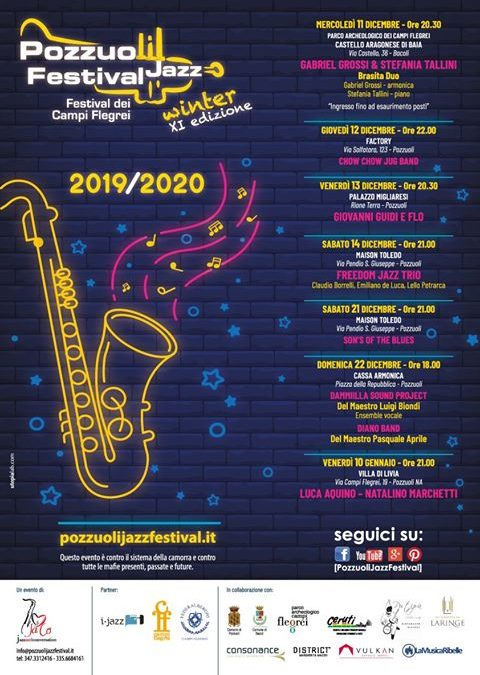 "Pozzuoli Jazz Festival. ""XI Winter Edition""."